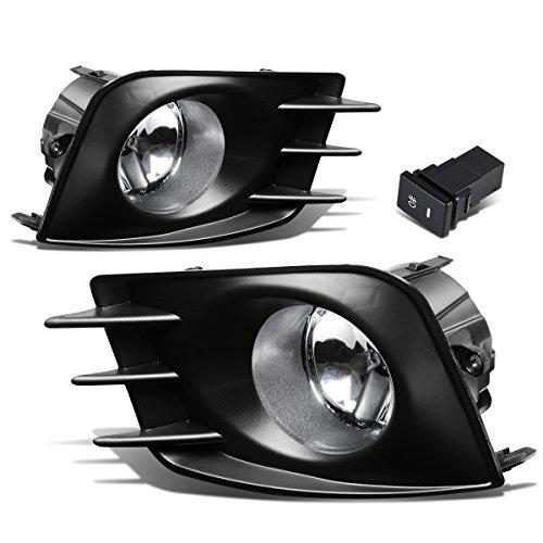 per Driving Fog Lights + Bezel + Wiring Kit + Switch (Clear Lens) (Light Unit Kit)