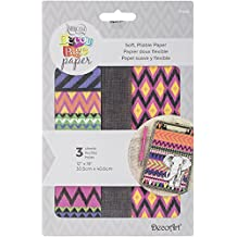 """Deco Art Decoupage Paper (3 Pack), 12"""" by 16"""", Tribal"""