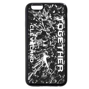 UniqueBox - Customized Black Soft Rubber TPU iPhone 6 Case, NBA Superstar Cleveland Cavaliers Lebron James Black Soft Rubber TPU iPhone 6 Case by ruishername