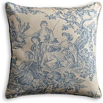Amazon Maison D' Hermine The Miller 40% Cotton Toile Magnificent Toile Decorative Pillows