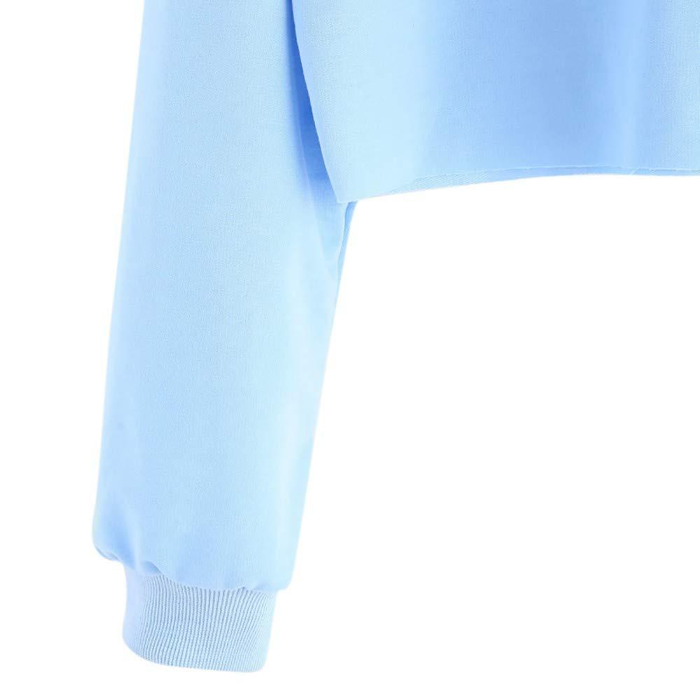 MODOQO Womens Hoodies Long Sleeve Letter Print Pullover Sweatshirt Loose Tops
