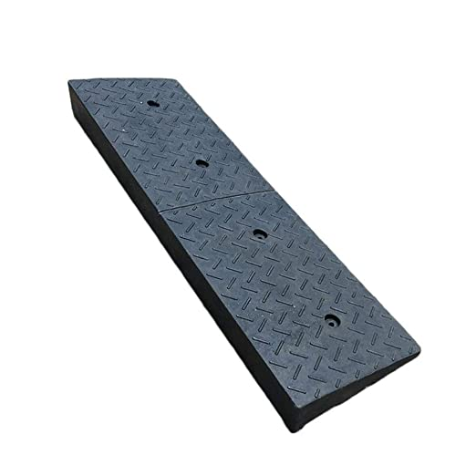 Rampa de goma de 10/cm parte media