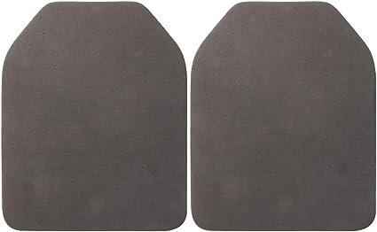 2pcs EVA Dummy Ballistic Plate Set Airsoft Paintball Vest Back Protective Pad