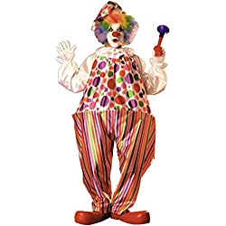 Rubie's Snazzy Clown, Multicolored, One Size Costume