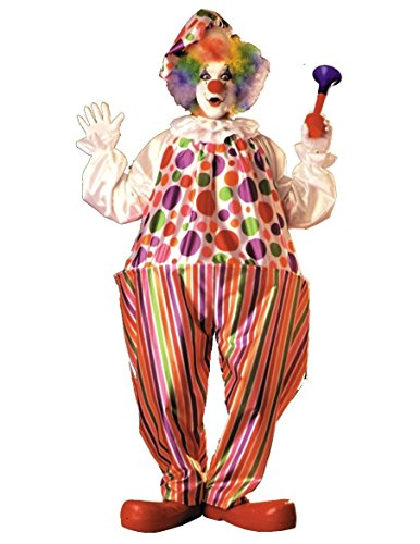 Rubie's Snazzy Clown, Multicolored, One Size -