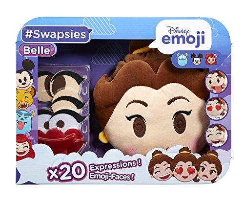 Disney Emoji - 71247.4300 - Swapsies Belle  - Ma Peluche Qui Change d'Expression