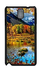 Fashion Style With Digital Art - Mountain Autumn Skid PC Back Cover Case for Samsung Galaxy Note 3 N9000