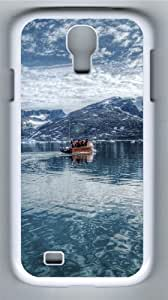 Arctic Sea, Eastern Greenland PC Case Cover for Samsung Galaxy S4 and Samsung Galaxy I9500 White
