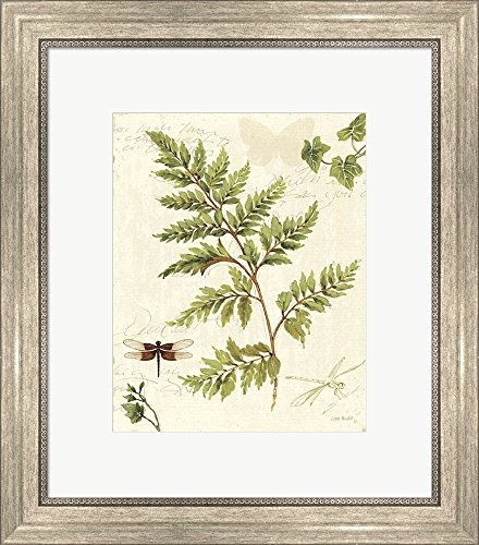 ivies-and-ferns-i-by-lisa-audit-framed-art-print-wall-picture-silver-scoop-frame-18-x-20-inches