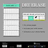 2016 Dry Erase Wall Calendar w/ Pen