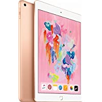 Apple iPad with WiFi, 128GB, Gold (2018 Model)