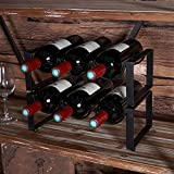 RiteSune 2 Tier Wine Racks Countertop 6