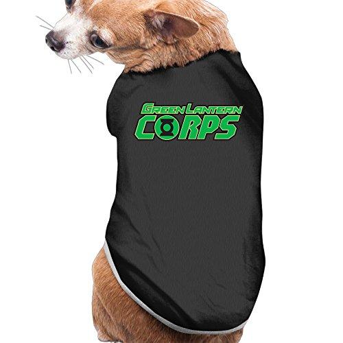 FEUNMG Green Lantern Corps Cozy Dog Costumes Pet -
