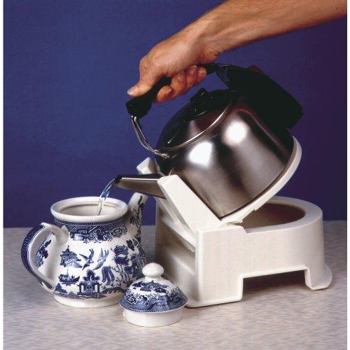 Gordon Ellis White Kettle Tipper for Kettles or Teapots - Non Slip