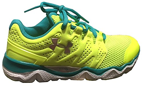 Under Armour Women Micro G Optimum Night Running Shoes High Vis Yellow B33pJjtKF