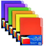 BAZIC 1/3 Cut Letter Size Color File Folder (6/Pack) (Case of 48) by Bazic