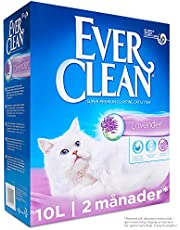 Ever Clean Lavender Clumping kattsand, 10l, parfymerad