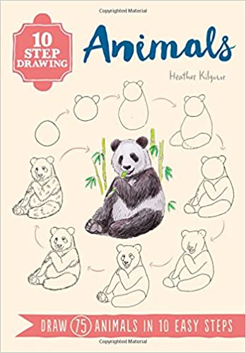 10 Step Drawing Animals Draw 75 Animals In 10 Easy Steps Ten Step