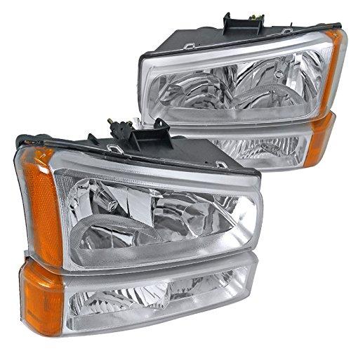 Spec D Tuning 2LBLH SIV03 RS Silverado Headlights