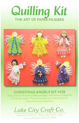 Quilling Kit-Christmas Angels