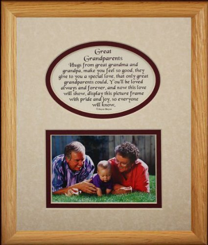 Amazon 8x10 Great Grandparents Picture Poetry Photo Gift
