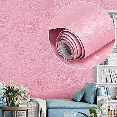 Ludeou Self Adhesive Wall Stickers Embossed Texture Self Adhesive