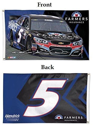 Wincraft NASCAR Kasey Kahne WCR72068015 2 Sided Flag, 3' x 5'