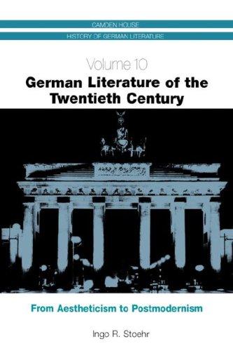 German Literature of the 20th Century