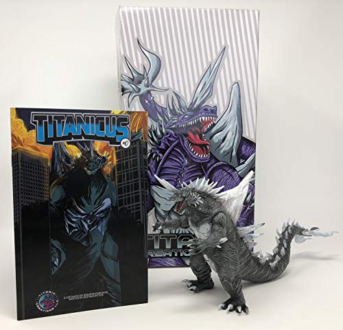 Used, Titanicus 15 cm Kaiju Toy for sale  Delivered anywhere in USA