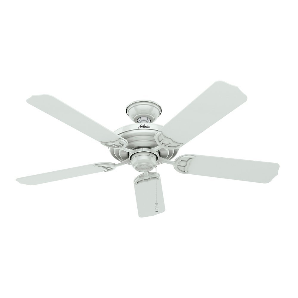 Amazon hunter 53054 sea air 52 inch 5 blade etl damp rated amazon hunter 53054 sea air 52 inch 5 blade etl damp rated ceiling fan with white plastic blades home improvement aloadofball Choice Image