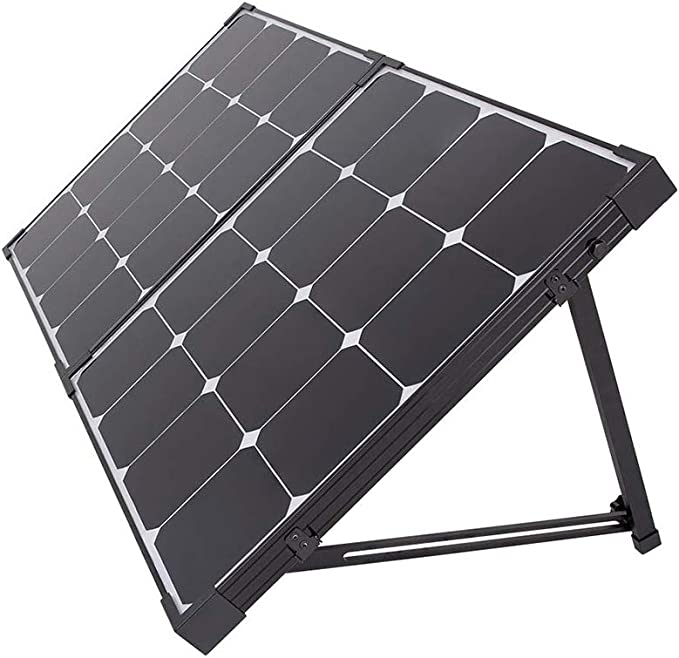 Boat Renogy 100 Watts 12 Volts Eclipse Solar RV Kit with 30A PWM LCD Charge Controller//Solar Panel Connectors//Tray Cable//Corner Bracket Mount//Cable Entry housing for RV
