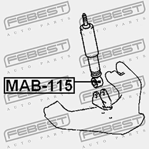 MAB-115 Febest SILENT BLOC DAMORTISSEUR AVANT