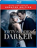 Movie cover for Fifty Shades Darker [Blu-ray+DVD+Digital HD] by Sylvia Day
