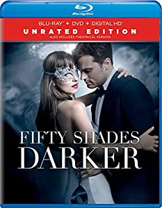 Cover Image for 'Fifty Shades Darker - Unrated Edition (Blu-ray + DVD + Digital HD)'