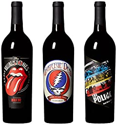 Wines That Rock, Rockstar Special Wine Mixed Pack V, 3 x 750 ml