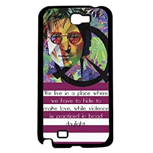 lintao diy Famous Colorful 70's Peace Quote Hard Snap on Phone Case (Note 2 II)