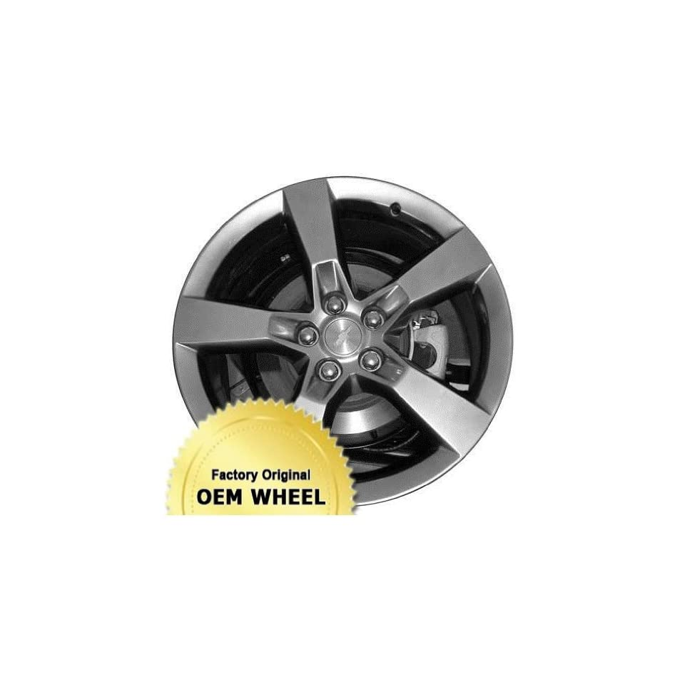 Chevrolet Camaro 20X9 5 120.7 40Mm Offset 5 Spoke Rear Factory Oem Wheel Rim   Hyper Silver Finish   Remanufactured