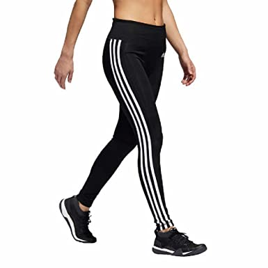 2c5043714 Amazon.com: adidas Women's 3 Stripe Active Tights Leggings: Clothing