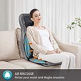 Comfier Shiatsu Neck & Back Massager – 2D/3D