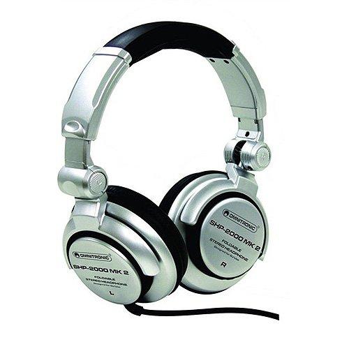 Omnitronic 1400039F SHP-2000 MK2 DJ-Kopfhörer