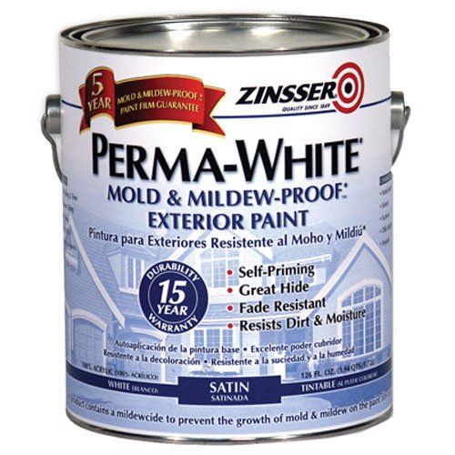 erior Mildew Performance Paint, White ()