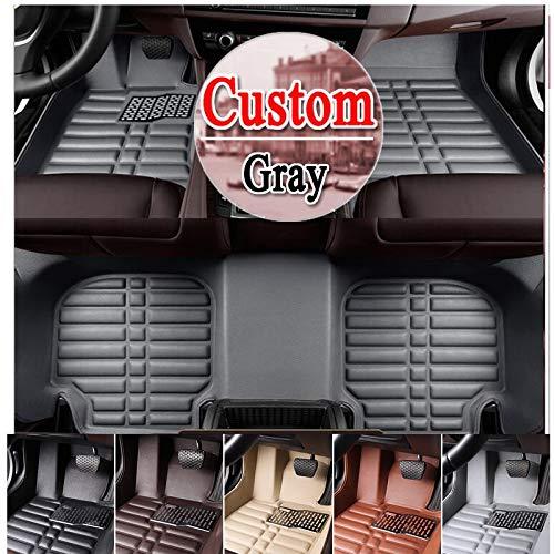 hotest Floor case car Floor mats for BMW1/2/3/4/5//7 Series GT X1 X3 X4 X5 X6 3D car-Styling Four Season Carpet Floor Liner