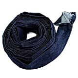 Pukido 7.5m Power Cable Cover Cowboy Cloth for Plasma Cutting Gun Argon Arc Welding