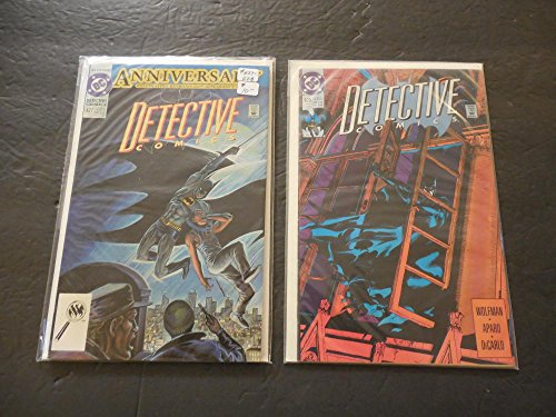 2 Iss Detective Comics #627-628 Copper Age DC Comics