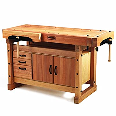 Sjobergs Elite 1500 Workbench plus Cabinet – Best Professional Woodworking Bench Review