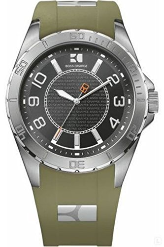 Hugo Boss Orange 1512809 Black Dial Stainless Steel Case Men's Watch