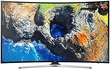 Samsung - Smart TV LED con pantalla curva de 55 pulgadas, UHD 4 K, color negro, DVD T/2: Amazon.es: Electrónica