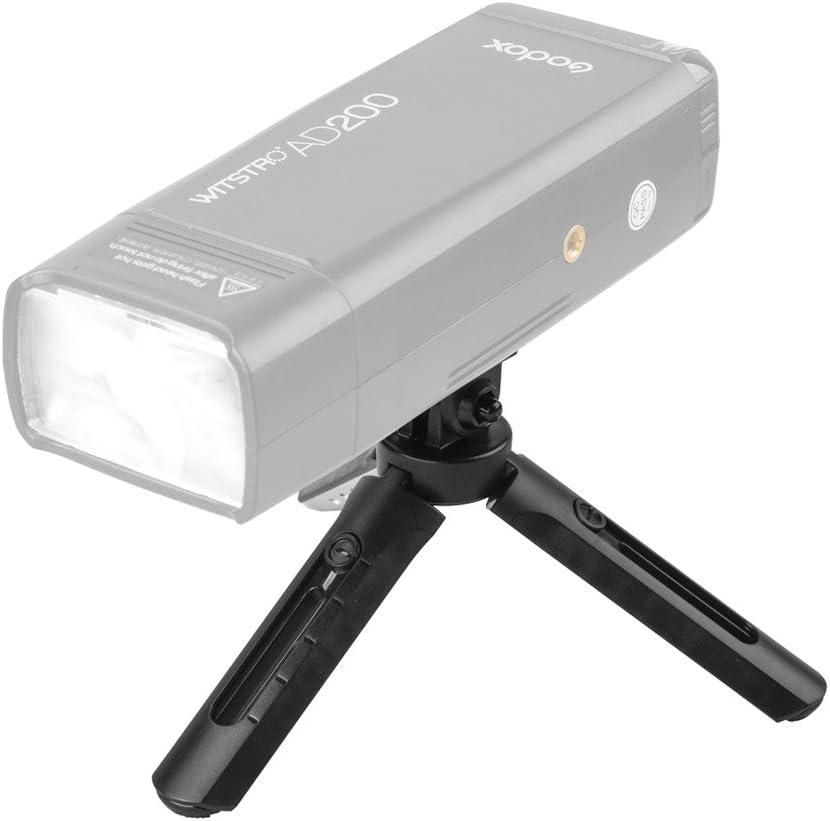 Godox MT-01 Mini-Stativ Videokamera Griff-Stabilisator f/ür Godox AD200,/Godox A1,/Digitalkamera DSLR klappbares Tisch-Stativ