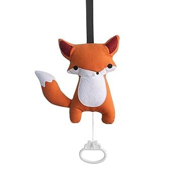 Exquisite Baby Zugfaden Spieluhr Hangen Spieluhr Fuchs Amazon De