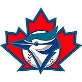 "Toronto Blue Jays MLB Baseball Car Bumper Sticker Decal 5"" x 4"""